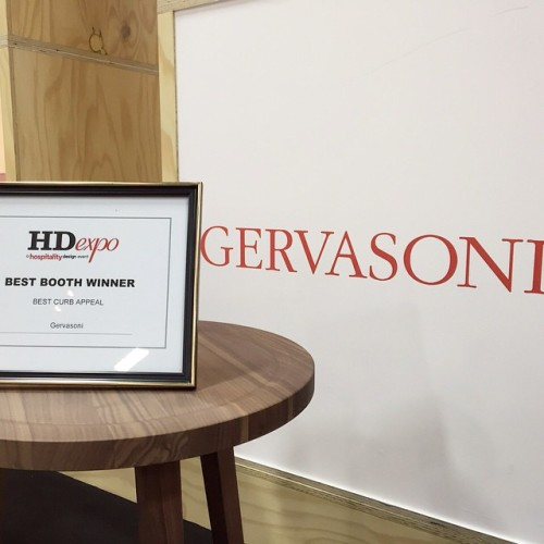gervasoni ic4hd hd expo 2015 award