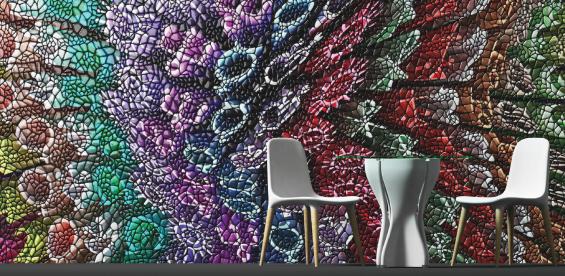 mac stopa mosaico digitale