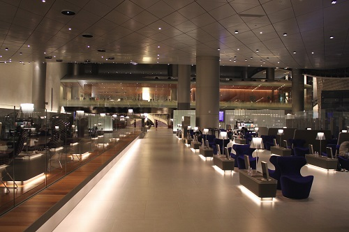 qatar Airways Al Mourjan Business lounge