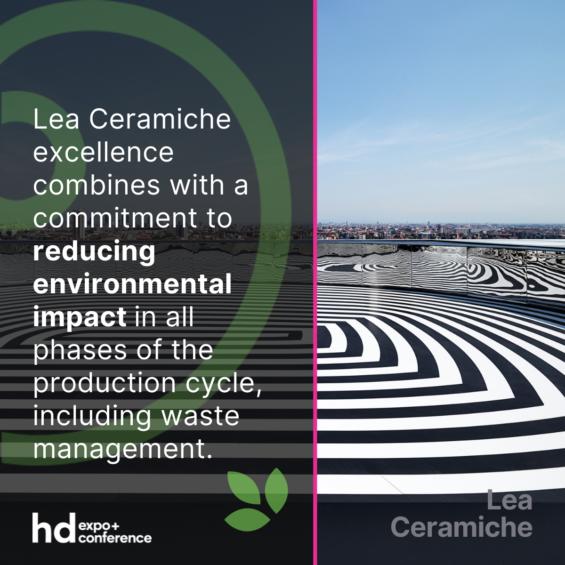 Lea Ceramiche Green HD Expo 2021