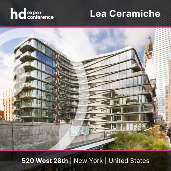 IC4HD HDExpo2021 Lea Ceramiche 520 West New York